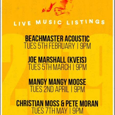 Live Music at Salsa - Christian Moss & Pete Moran